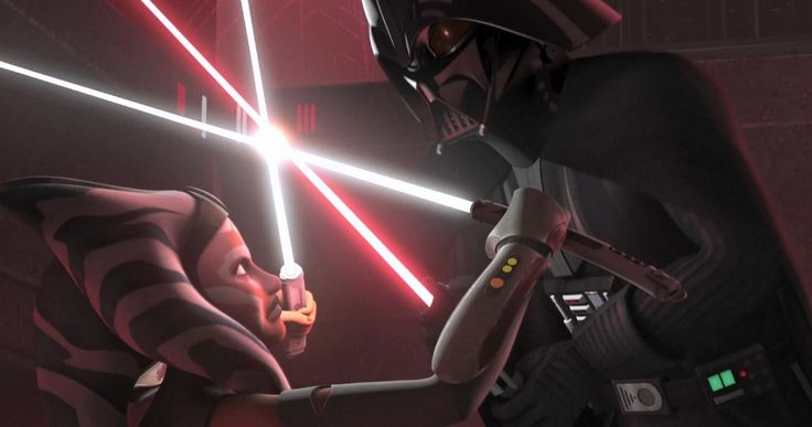 'Star Wars Rebels' Season 2 Finale Recap: 'Twilight of the Apprentice' -- 'Star Wars Rebels' Season 2 comes to a thundering climax with a showdown between Darth Vader and Ahsoka Tano. -- http://movieweb.com/star-wars-rebels-season-2-finale-recap-twilight-apprentice/