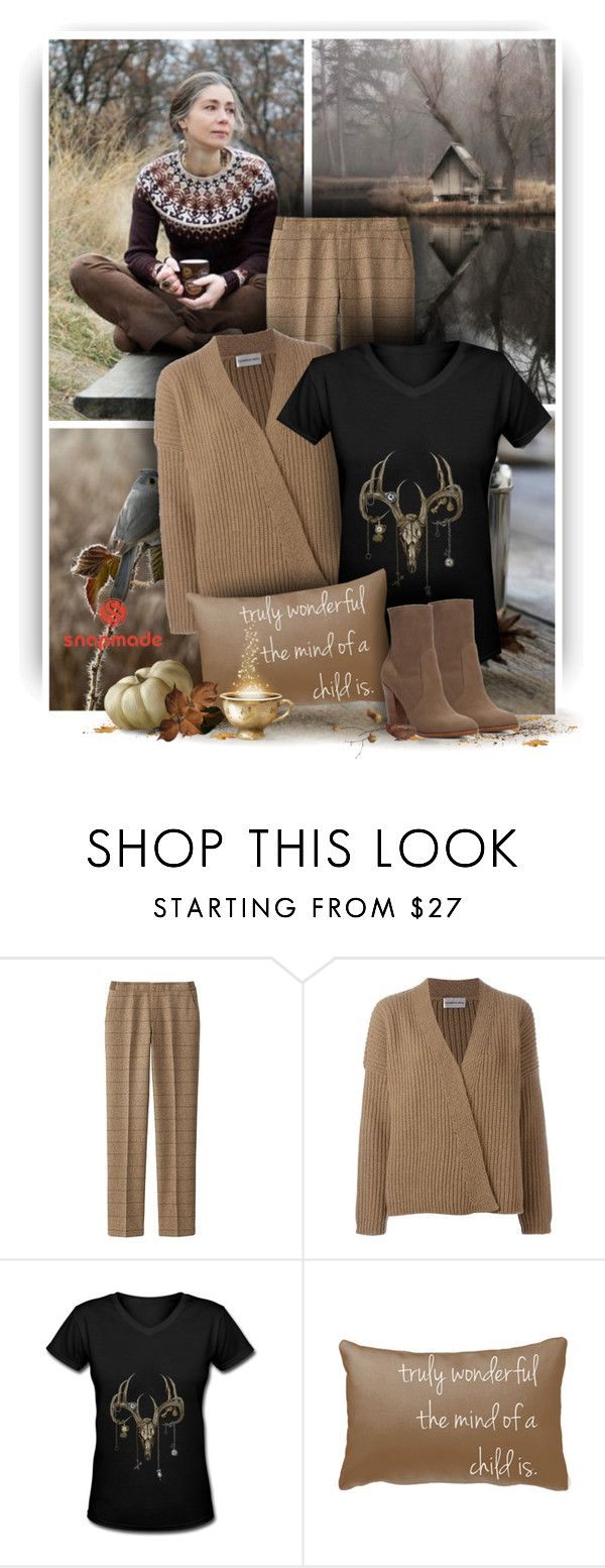 """Autumn Day - Snapmade"" by christiana40 ❤ liked on Polyvore featuring Uniqlo, LAURENCE BRAS and ALDO"