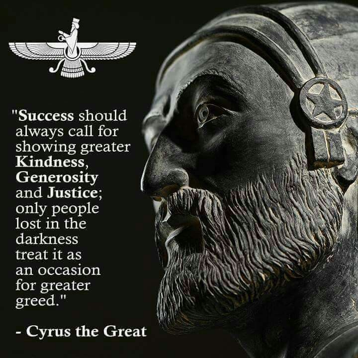 Cyrus The Great...