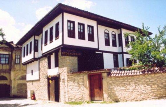 Berfender Safranbolu houses.