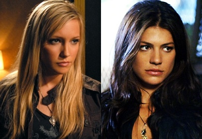 Ruby (Supernatural) played by Katie Cassidy and Genevieve Cortese Padalecki