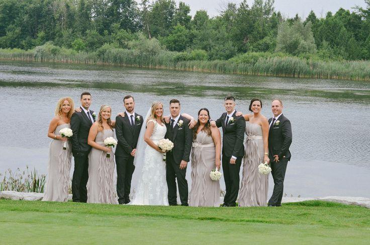 Congratulations Laura & Ryan 07.17.15 Bridal Party onsite photos #eaglesnestgolf
