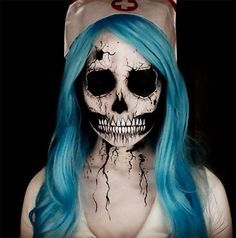 Creative Halloween Makeup Ideas: Skull Halloween Makeup