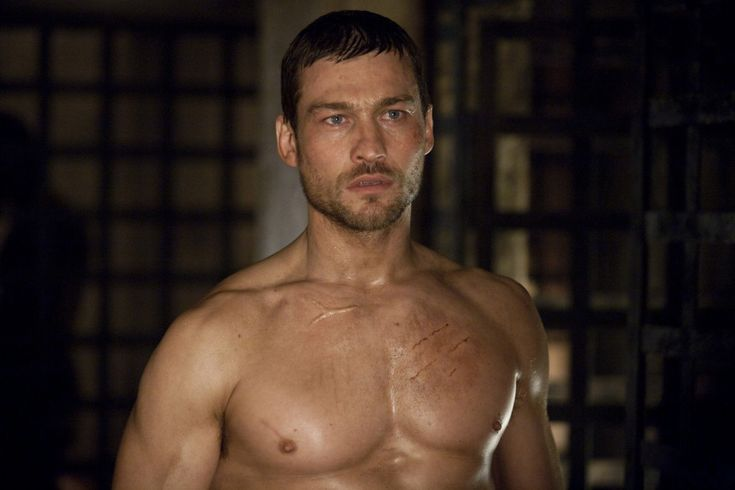 Andy Whitfield-The hottest man alive-God bless him..hope he gets better