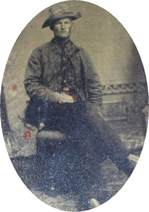 George W. Kennedy, 16th Tennessee Infantry, Company B. Born 1844 at Manchester, Coffee County, TN. Went missing in battle around Chattanooga, November 24,1863. Captured 27 November 27,1863 at Dowdy's Ferry and sent to Rock Island Prison, Ill. Took the Oath on 23 May 1865.