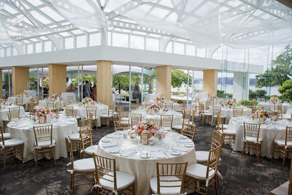 Terrace Ballroom Inn at Laurel Point Leanne Pedersen Photographers