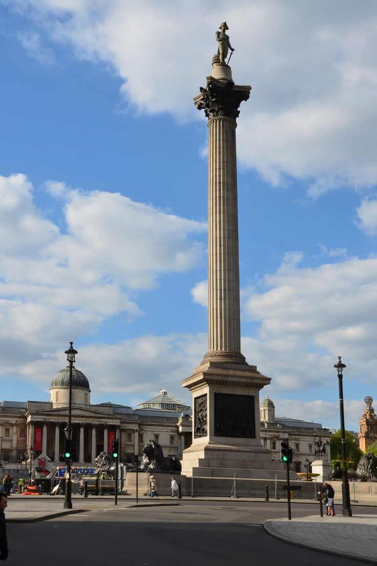 Trafalgar Square, London, England I remember going here many times with all the pigeons around