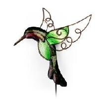 Hummingbird Metal Garden Stake Stick Or Wall Decor