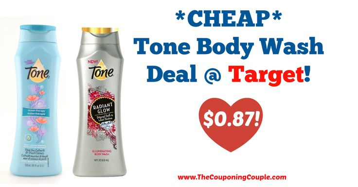AWESOME DEAL!!! *CHEAP* Tone Body Wash Deal @ Target!  Click the link below to get all of the details ► http://www.thecouponingcouple.com/cheap-tone-body-wash-deal-target/ #Coupons #Couponing #CouponCommunity  Visit us at http://www.thecouponingcouple.com for more great posts!