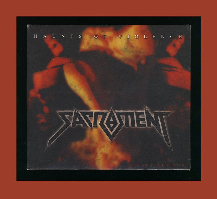 SACRAMENT - HAUNTS OF VIOLENCE (*NEW-CD, 2014, Retroactive) CCM Metal  | eBay