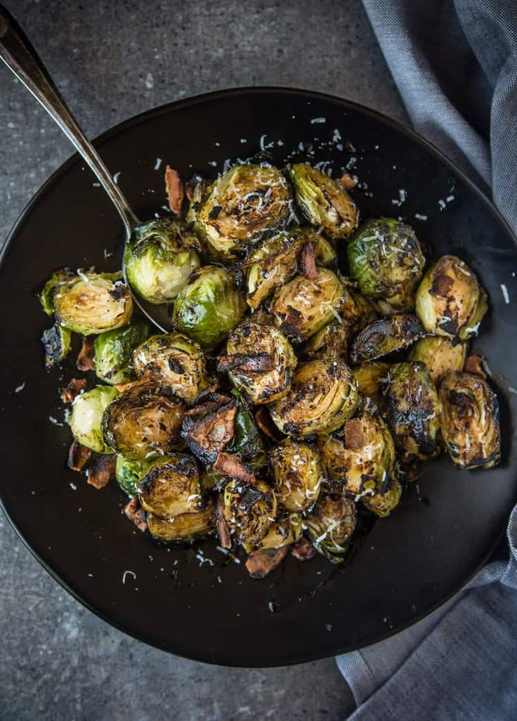 Grilled Brussels Sprouts Recipe With Images Smoked Food Recipes Sprouts With Bacon Brussel Sprouts
