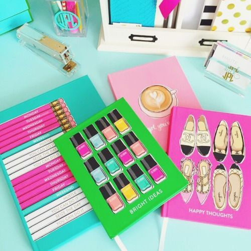 Lovely Preppy Office Supplies