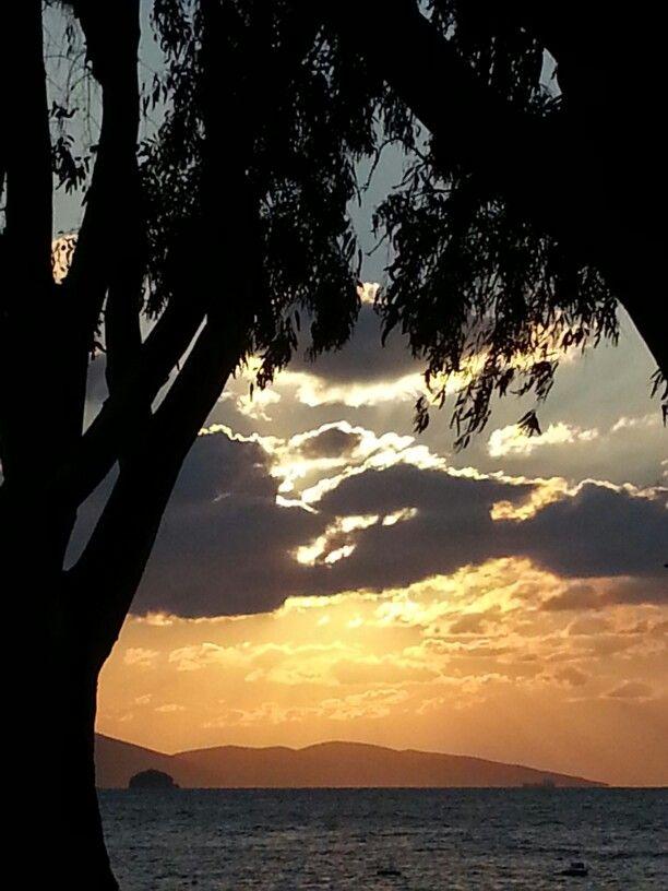 Sunset of Turgutreis