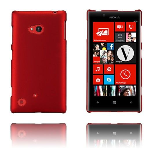 Hard Shell (Rød) Nokia Lumia 720 Etui