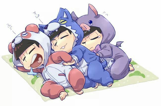 Osomatsu, Karamatsu & Ichimatsu
