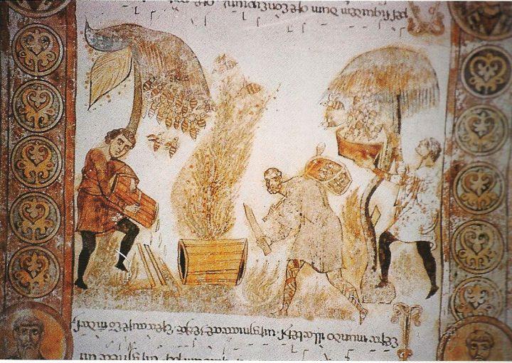 Immagini Di Paesaggio Agrario Del Medioevo Paesaggi Medioevo Immagini