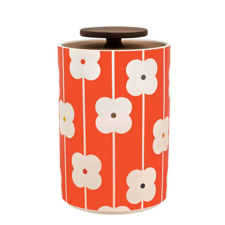 Orla Kiely Storage Jar 2l - Abacus Red – Kiitos living by design