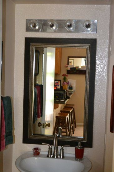 this mirror frame sticks to your plain ugly bathroom mirror mirror frame kits are a