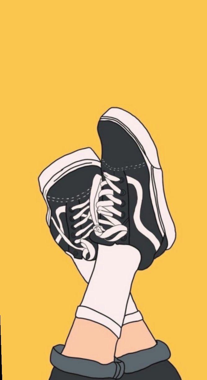 13 Shoes Sneakers Vans Wallpaper Dengan Gambar Gambar Mode