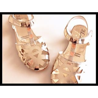KIDS SHOES キッズ/ベビーのキッズ靴/シューズ (15cm~)(サンダル)の商品写真