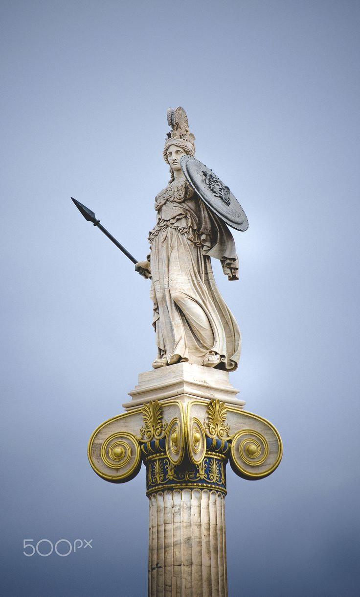 Goddess Athina, Athens, Greece                                                                                                                                                      More