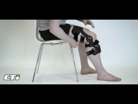Fitting your CTi Knee Brace for the first time - YouTube