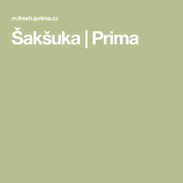 Šakšuka | Prima