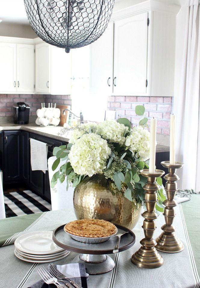 2018 Fall Home Tour Living Room And Dining Room Dining