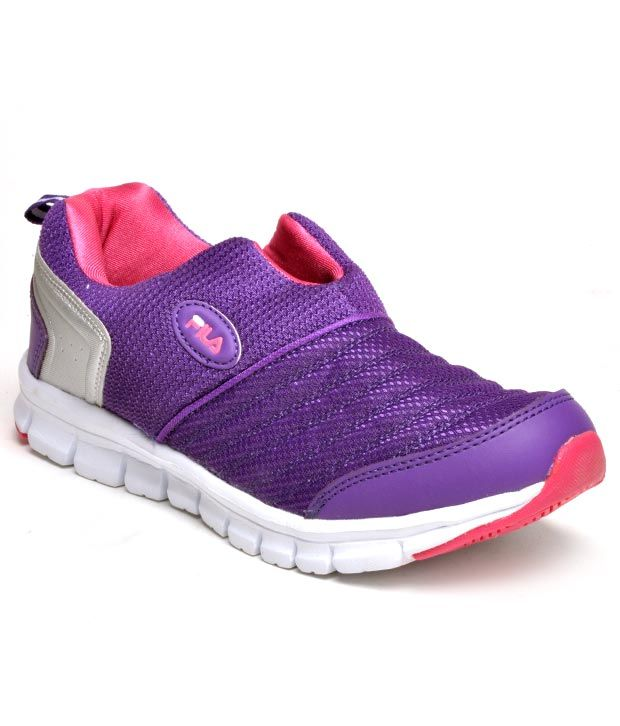 Fila Smash Lite Purple Training Shoes