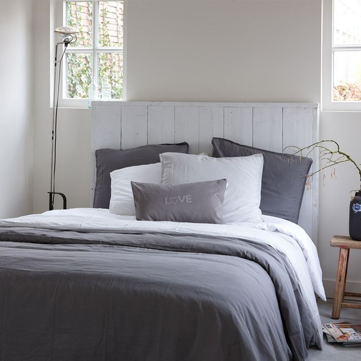 House In Style HS Lerici Bed Linen Anthracite   Houseology