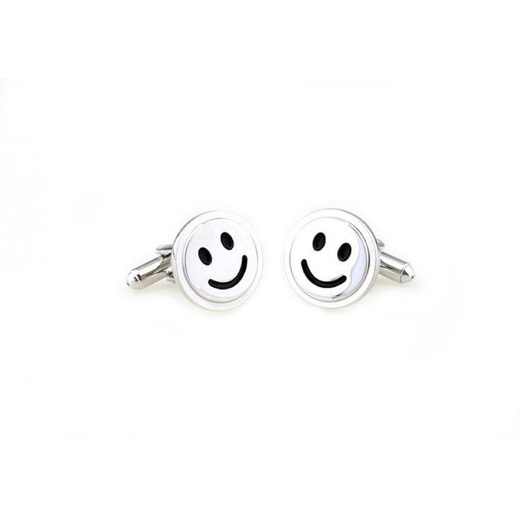 Smiley face #cufflinks #cufflinkspalace