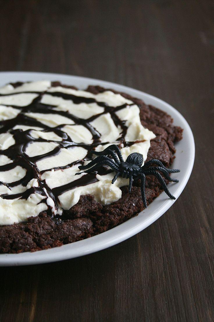 Cookies chocolat araignée halloween 1