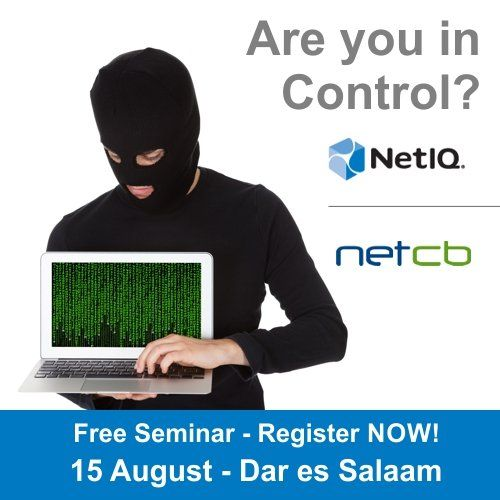 Please RSVP and share the Are you in Control? (Dar es Salaam, Tanzania)!