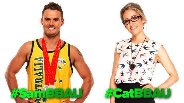 Team Sam/Cat Big Brother Australia #BBAU BBAU9