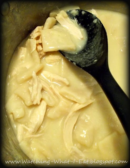 Homemade Chicken & Dumplings ~ just like Grandma & Cracker Barrel make!