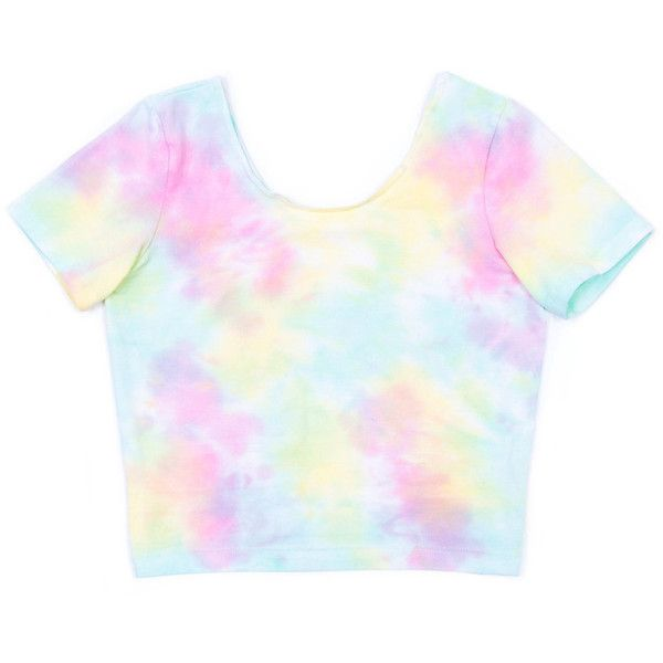 Pastel Tie Dye Cropped Top | Skinny Bitch Apparel, Clothing for Urban... ($24) ❤ liked on Polyvore featuring tops, shirts, crop tops, blusas, pastel tops, tye dye shirts, urban tops, urban shirts and tyedye shirts