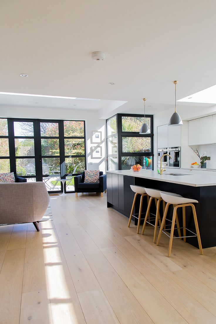 Nothing Beats The Warmth Of Hardwood Floors, Particularly In The Kitchen.  We Love This