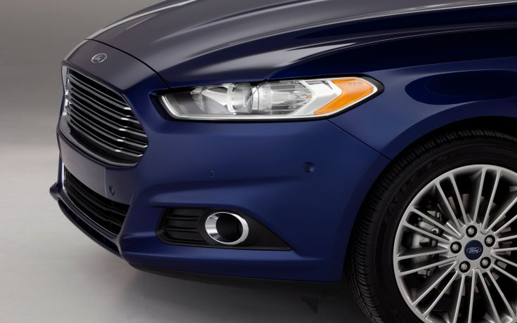 2013 Ford Fusion Hybrid Front End