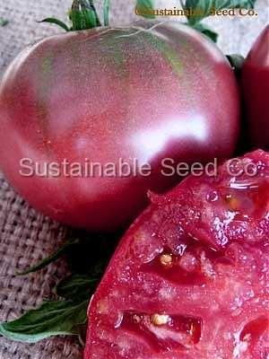 Cherokee Purple Tomato Seeds - Heirloom Seeds: Sustainable Seed Company