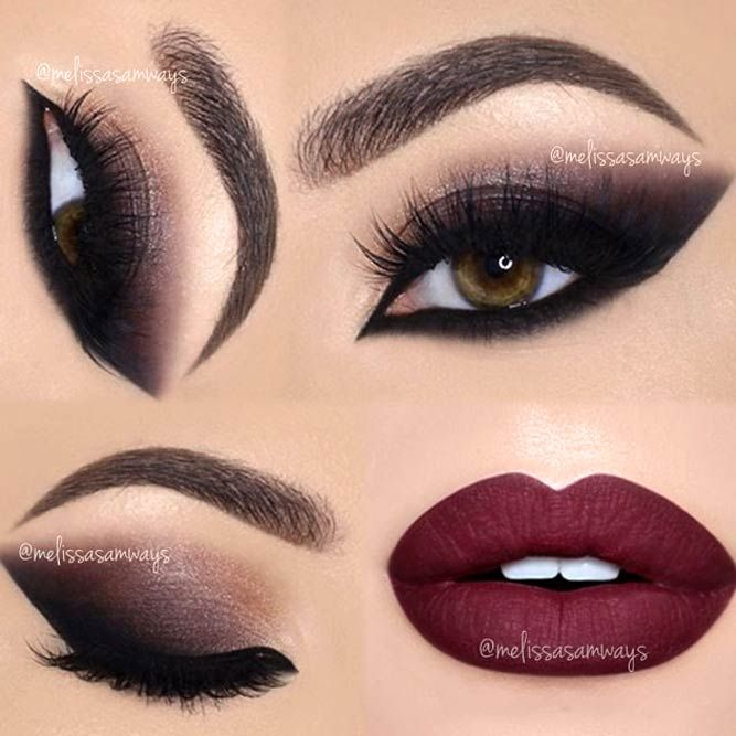 Maroon Lipstick: How To Wear The Lipstick Right ★ See more: https://makeupjournal.com/maroon-lipstick/