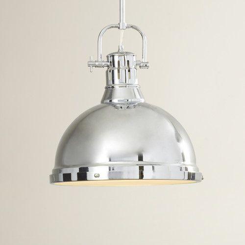 Bowdoin 1 Light Bowl Pendant
