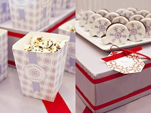Christmas Decorations With O Magazine Theme