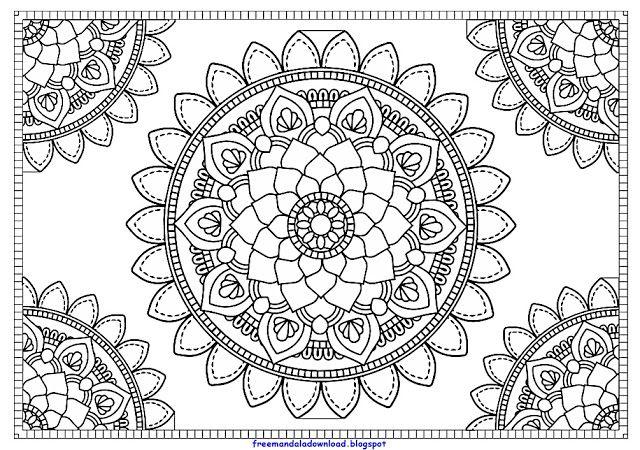Pin On Mandala Pdf Free Download