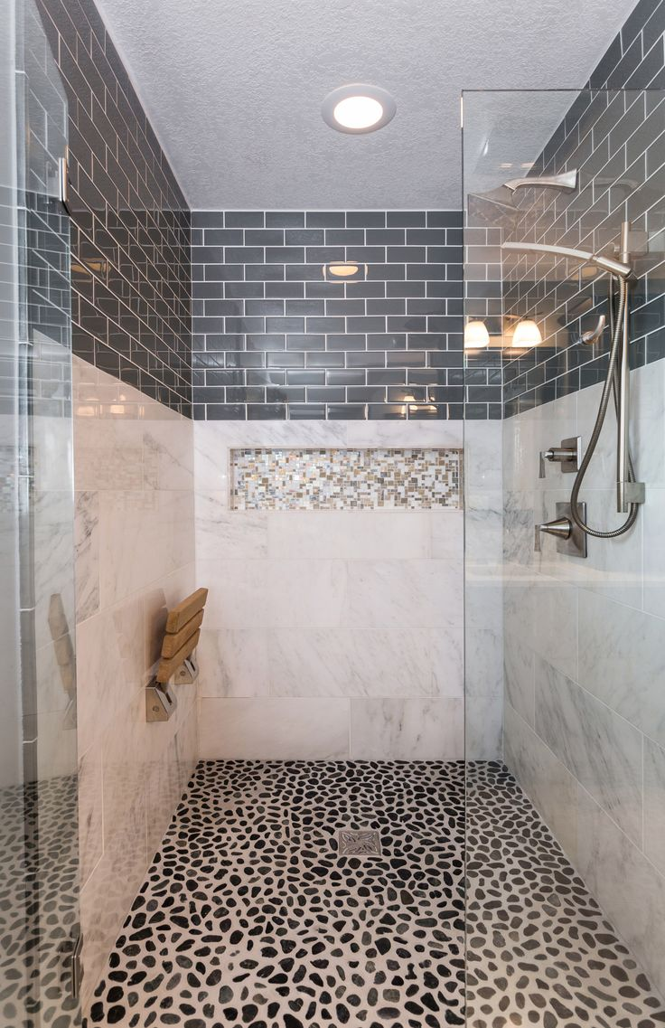 Awesome Level Entry Shower System