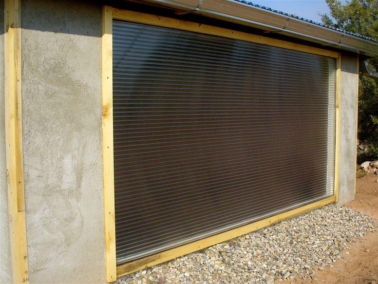 Como fazer: Aquecimento solar passivo. Parede solar.