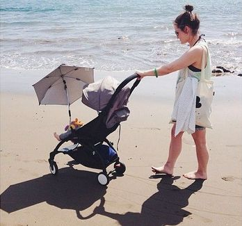 BABYZEN on the beach! www.babyzen.com #stroller #mum
