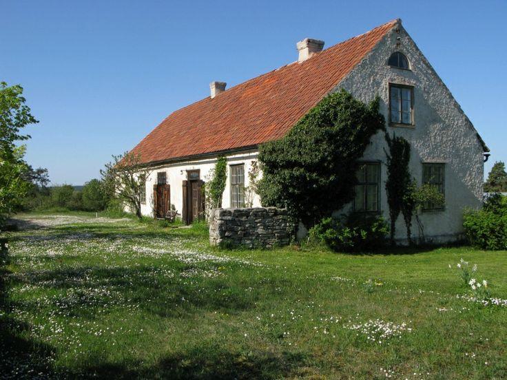 Kalkstenshus Gotland