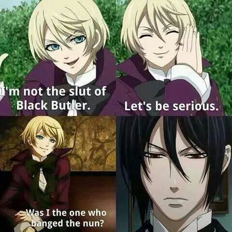 Holy shit Alois is dissing Sebastian. I would have said the same thing.