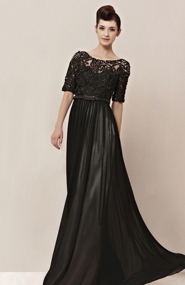 Conservative long formal dresses