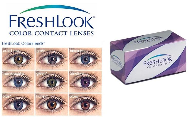 Opciones de lentes de contacto cosméticos FreshLook